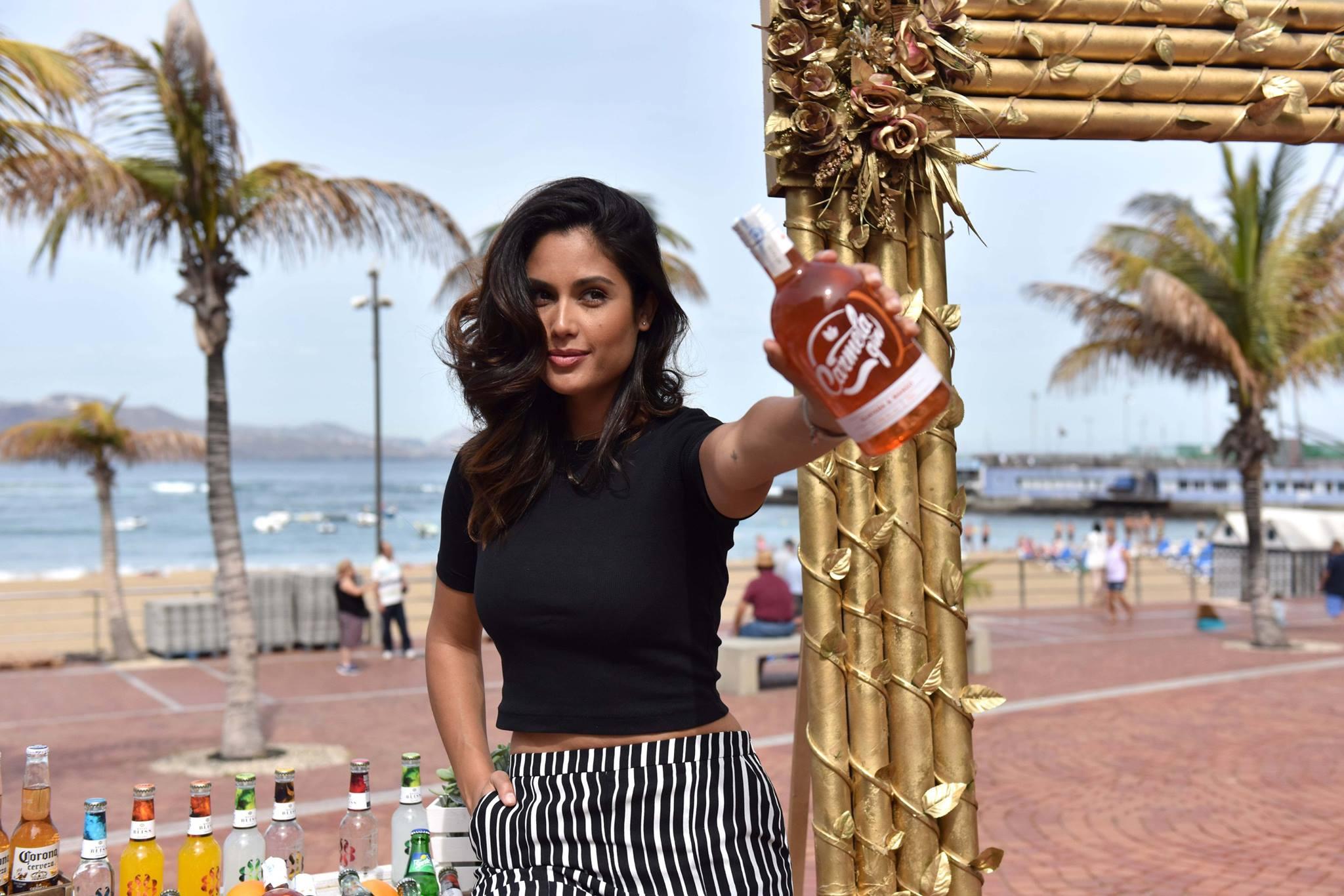 Carmela Gin patrocina el FashionShow +QModa Canarias Tribute