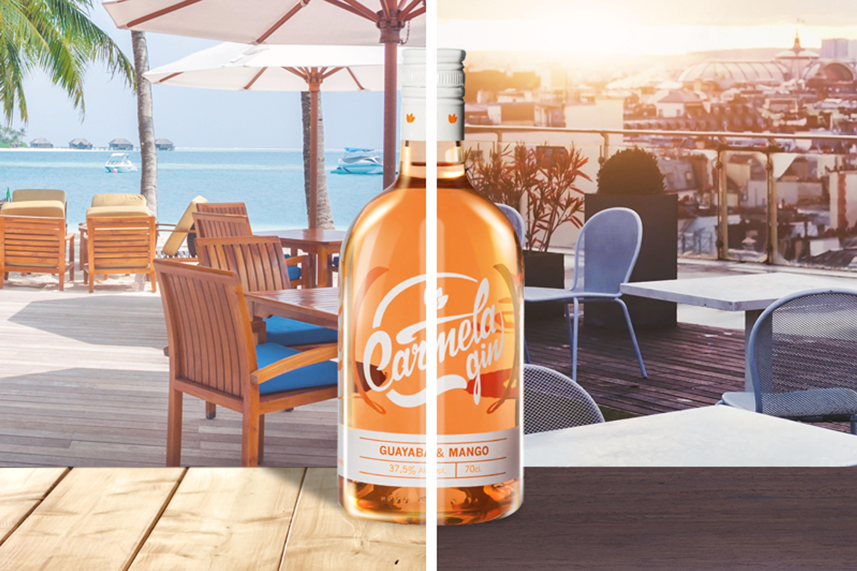 Cinco lugares donde combinar vacaciones y Carmela Gin