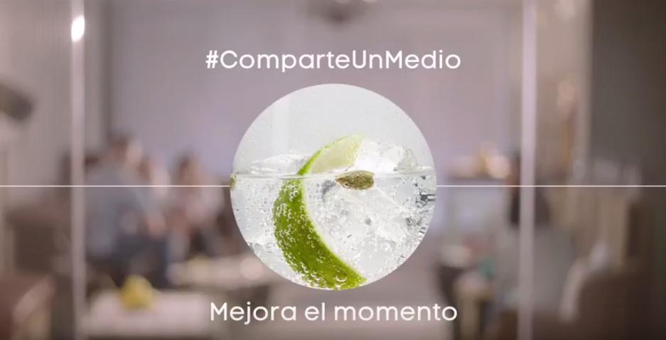 #ComparteUnMedio, una nueva forma de tomar una copa entre amigos